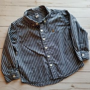 Gap Long Sleeve Button Down Boys Size 3T